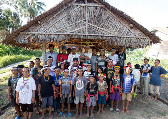 Our YPBM program group from Saibi Samukop, central Siberut Island
