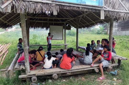 YPBM cultural education program in Saibi Samukop