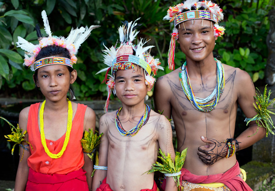 Yayasan Pendidikan Budaya Mentawai students participated in the Indigenous Celebration Festival 2018 in Ubud, Bali