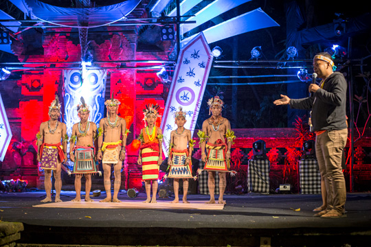 Yayasan Pendidikan Budaya Mentawai students participated in the Indigenous Celebration Festival 2018 in Ubud, Bali
