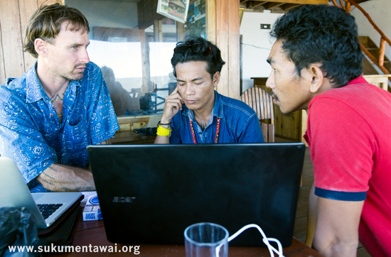 Yayasan PGPI and IEF discuss their new Mentawai Ecotourism community initiative