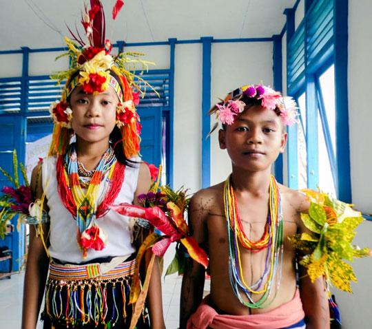 Yayasan Pendidikan Suku Mentawai memulai Festival Pertunjukan Budaya di Pulau Siberut