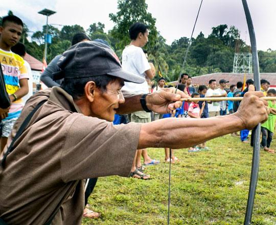 Yayasan Pendidikan Suku Mentawai initiated a Cultural Performance Festival on Siberut Island